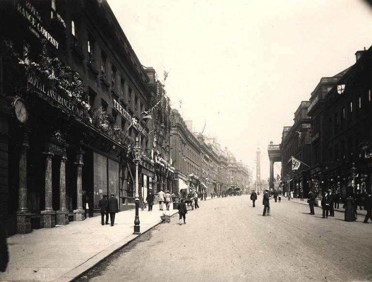 Grey Street in 1911