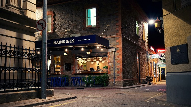 Hains & Co exterior