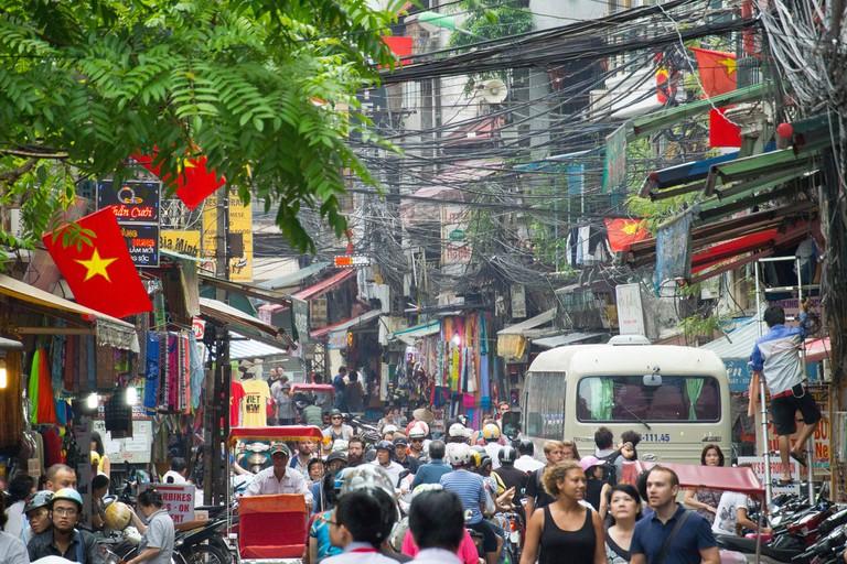 Hanoi's Old Quarter | © a_brlnr/Flickr