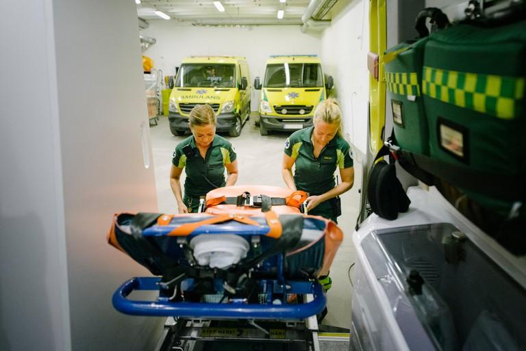 Sweden believes in universal health care