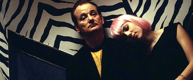 Bill Murray and Scarlett Johansson in Lost in Translation