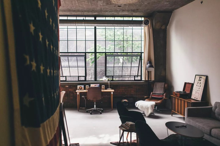 High-end Loft in Historic Building | Courtesy of Jesse/Airbnb