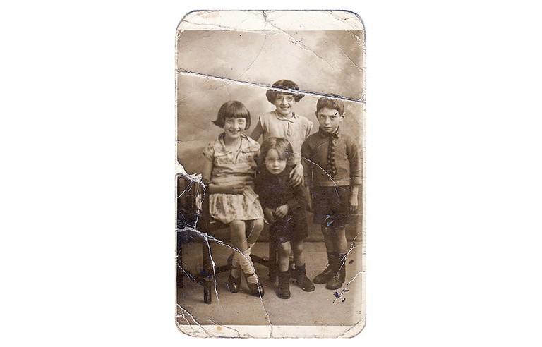 Vintage photograph of Joseph Markovitch as a child