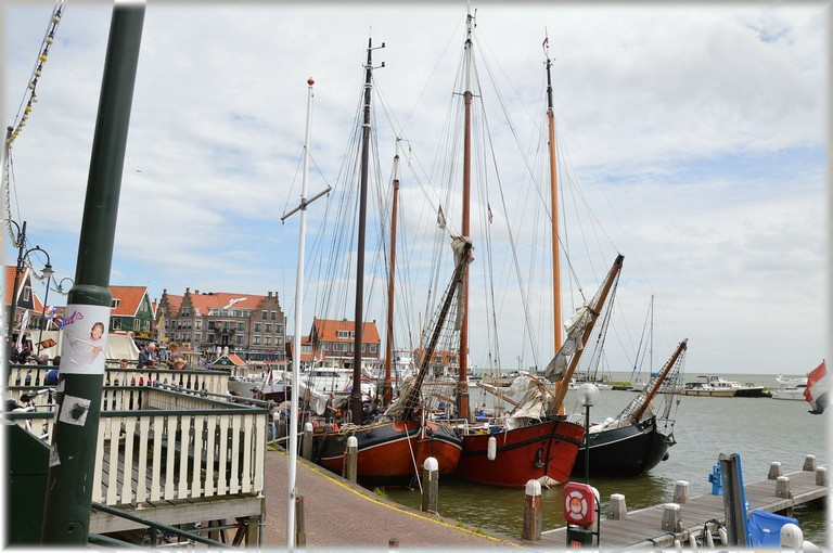 Urk is a small, historic fishing village in the centre of the Netherlands