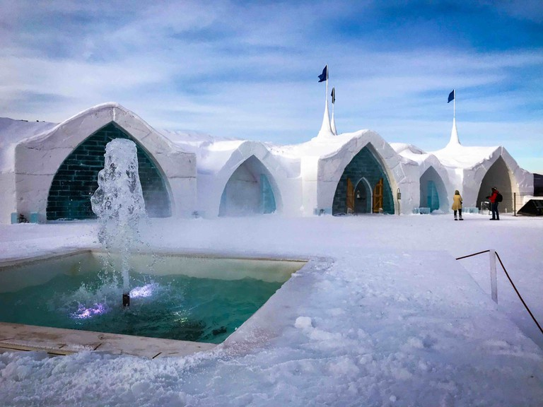 This Hotel In Canada Is Made Entirely Out Of Ice