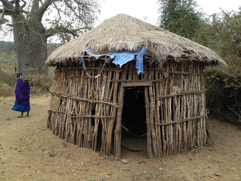 Most vernacular African architecture makes use of locally sourced materials