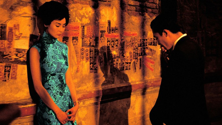 Maggie Cheung and Tony Leung in In the Mood for Love