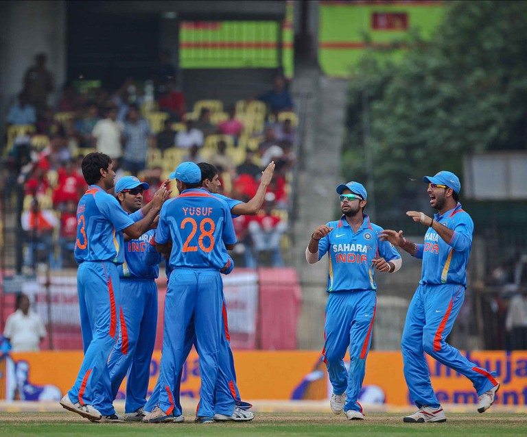 India Vs. New Zealand Cricket ODI