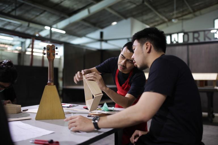 Indoestri Ukelele Workshop