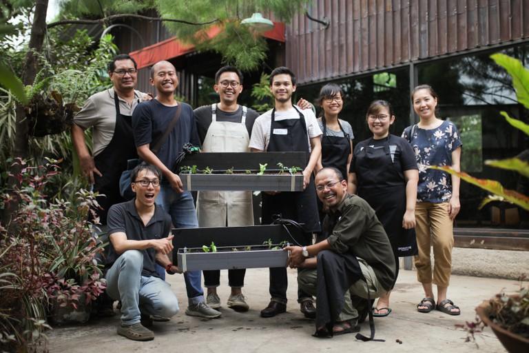 Indoestri Urban Farming- Self Watering Salad Garden Workshop