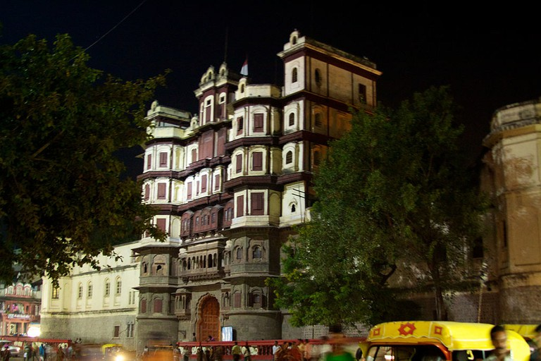 The Rajwada (Old Palace) in Indore