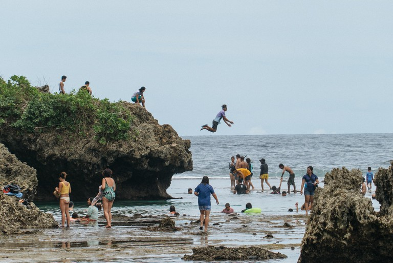 Magpupungko Rock Pool, Siargao, Phillipines