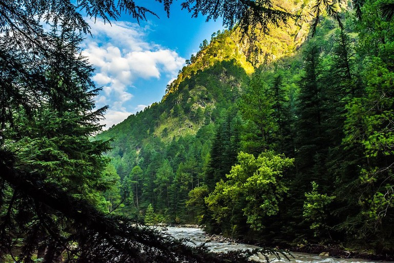 Located on the banks of the Parvati River in Kullu District, Kasol is extremely popular for its hippie culture