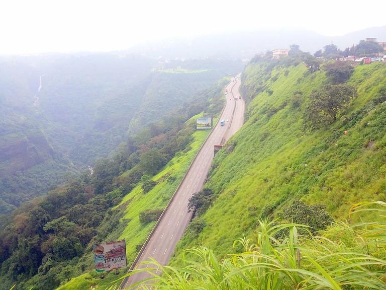 Khandala Ghat in monsoons