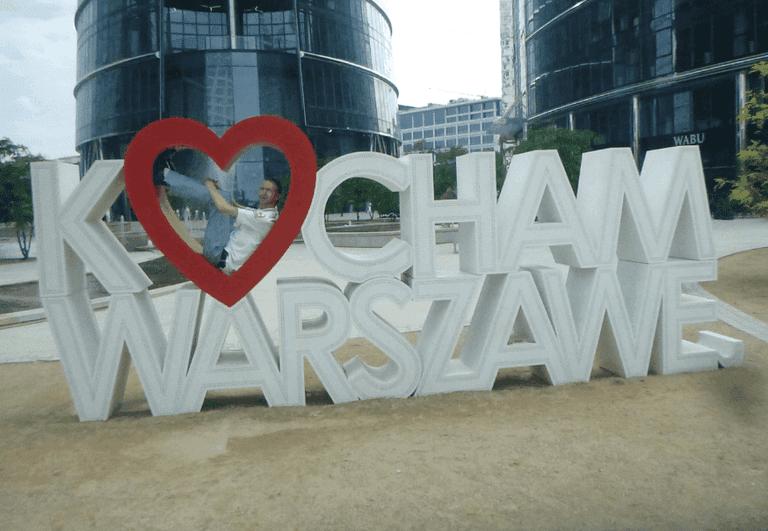 Kocham Warszawe