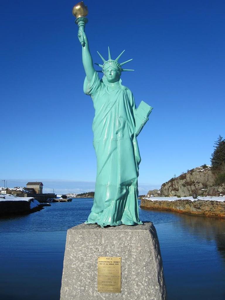 Lady Liberty | Courtesy of Opplev Karmoy
