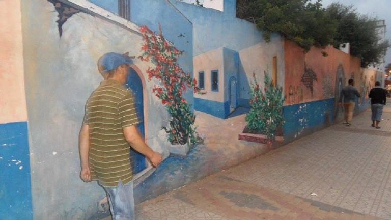 Larache street art
