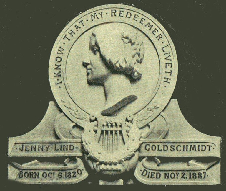 A memorial to Lind at Westminster Abbey
