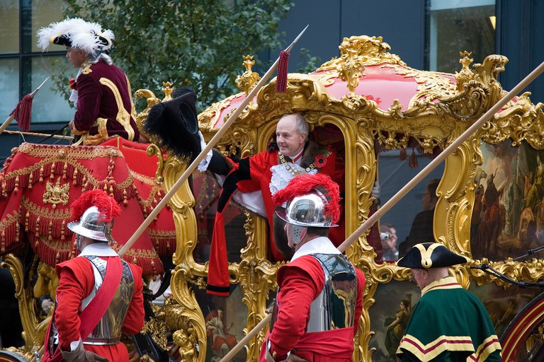 Lord Mayor of London John Stuttard at the annual Lord Mayor's Show in 2006