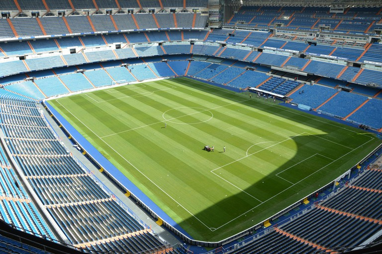 Visit the Santiago Bernabéu stadium