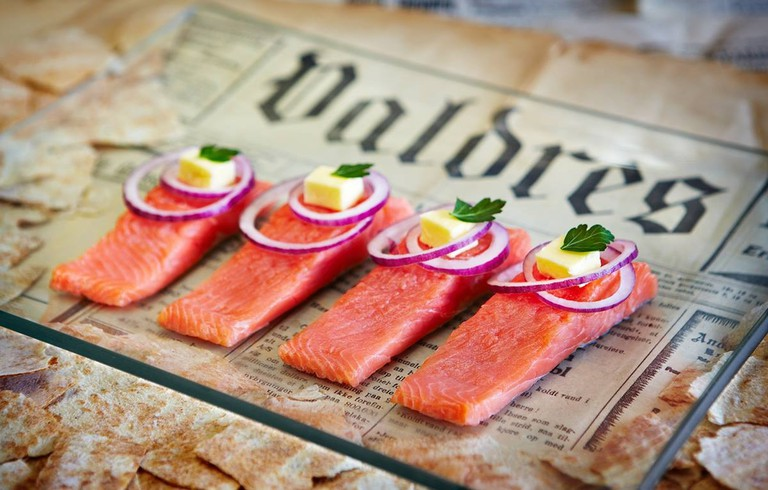 Many fish delicacies await you at Fagernes