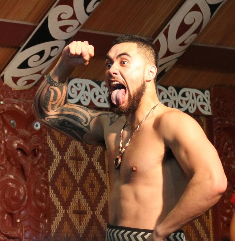 Maori Haka   © Tony Hisgett / Flickr