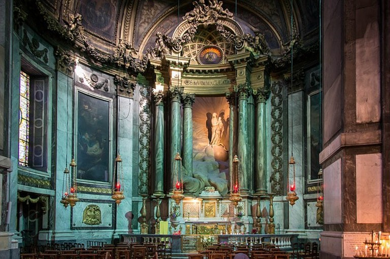 Roman Catholic Saint-sulpice Chapel Paris Church