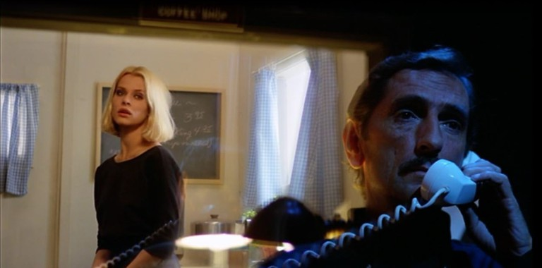 Nastassja Kinski and Harry Dean Stanton in Paris, Texas