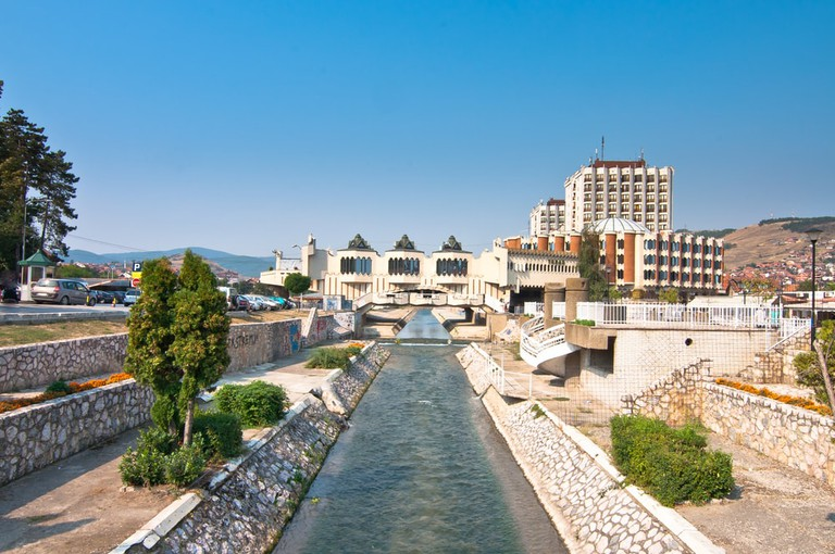 The Raška river flows through the centre of modern day Novi Pazar
