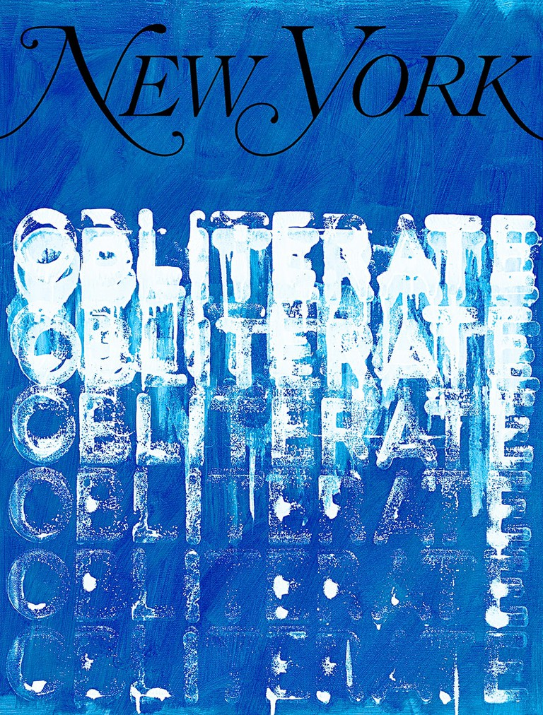 """My New York Artist Covers: Mel Bochner."" Image courtesy of the artist and New York Media."