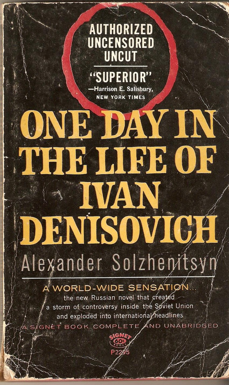 American edition of One Day in the Life of Ivan Denisovich