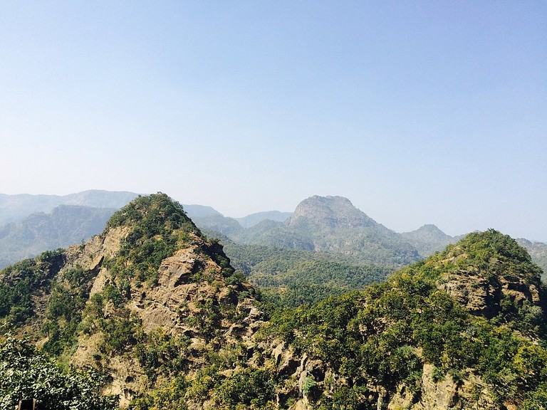 Mountains of Pachmarhi
