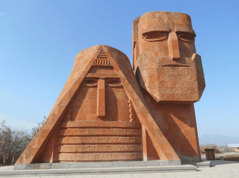 Papik Tatik Jonny Blair Nagorno Karabakh Stepanakert
