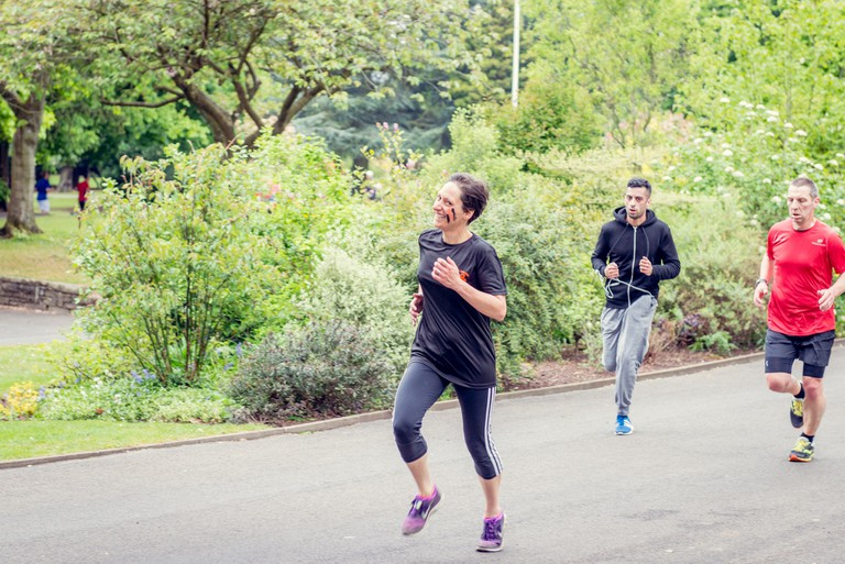 Parkrun at Cannon Hill Park