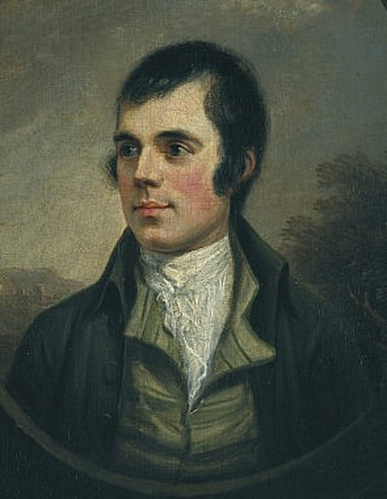 Robert Burns | By Alexander Nasmyth, Public Domain / via WikiCommons