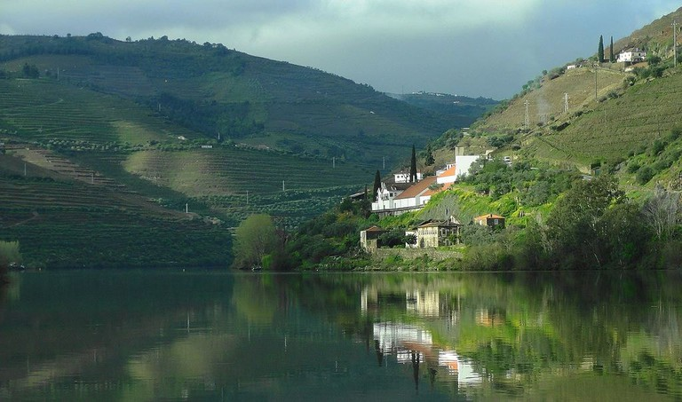 View of Pinhão on the picturesque Douro Line