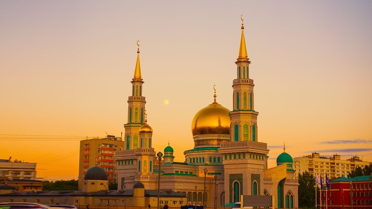 Prospekt Mira Sky Moscow Cathedral Mosque Ramadan