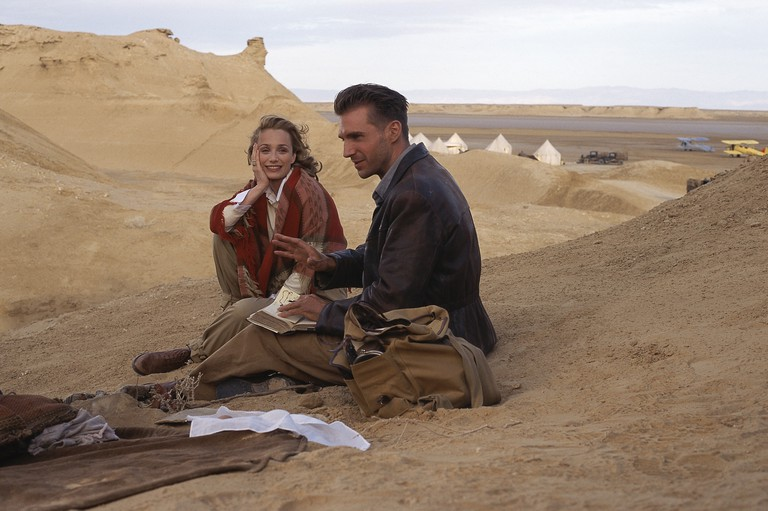 Kristin Scott Thomas and Ralph Fiennes in The English Patient