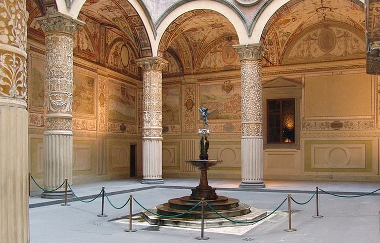 The Courtyard of Palazzo Vecchio