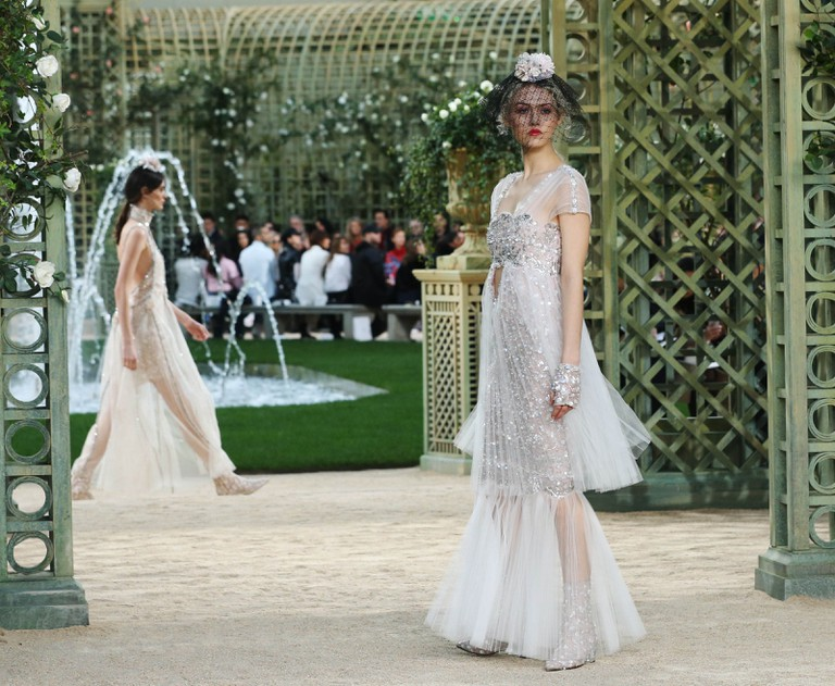 Chanel show, Runway, Spring Summer 2018, Haute Couture Fashion Week, Paris, France - 23 Jan 2018