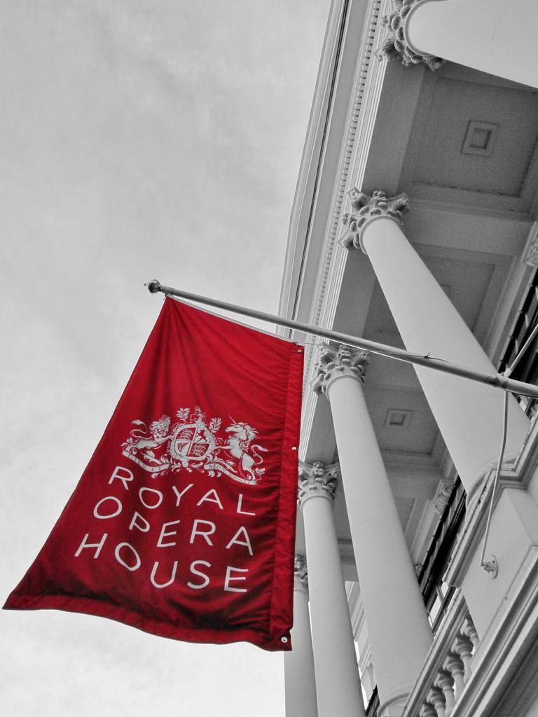 The Royal Opera House | © Roman Hobler/Flickr