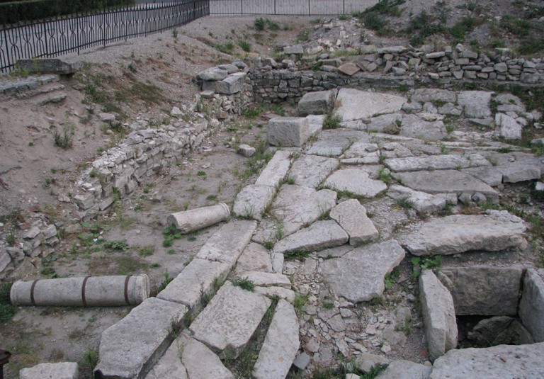 Ruins of the old Roman Citadel, Cluj
