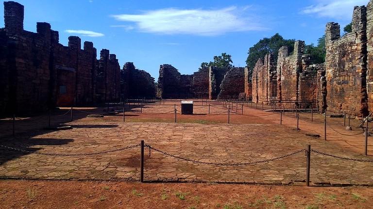 Ruinas_San_Ignacio_Mini_Interior_Iglesia