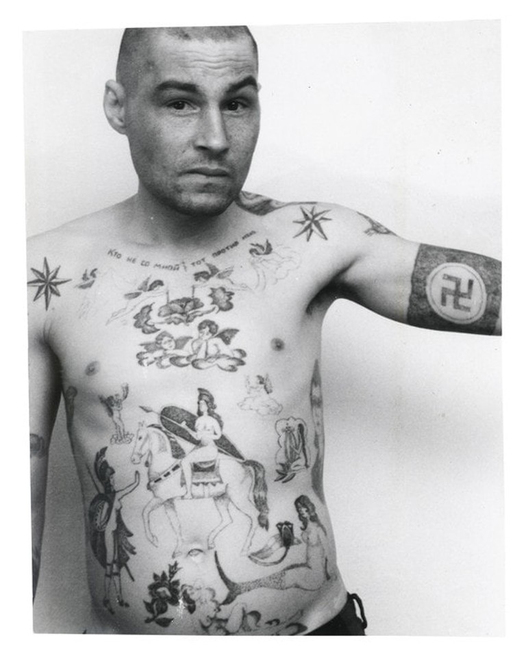 Russian Prison Tattoos 6