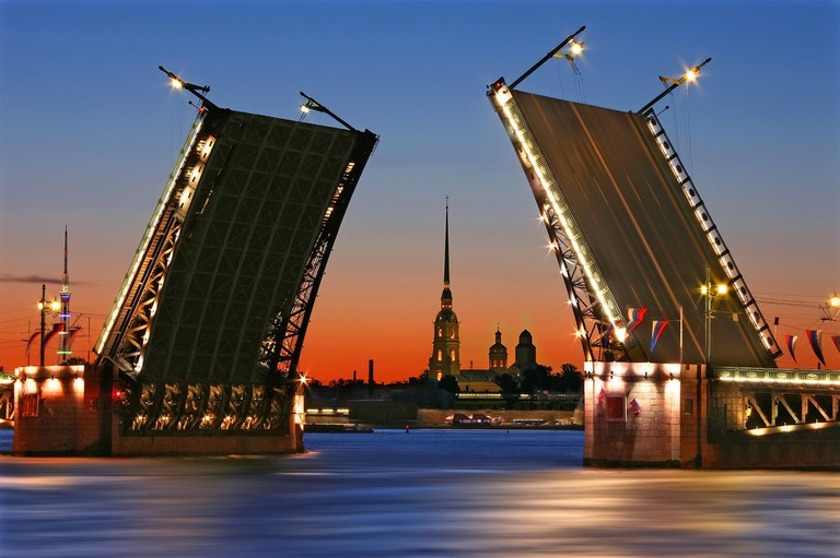 St Petersburg will offer lots of cultural activities