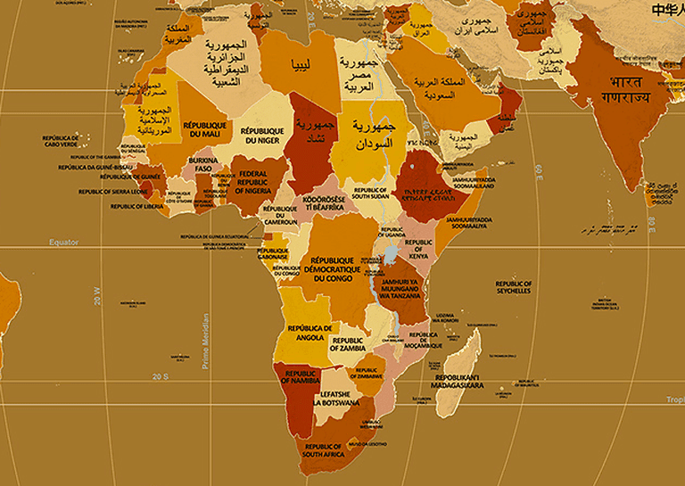 Endonyms of Africa