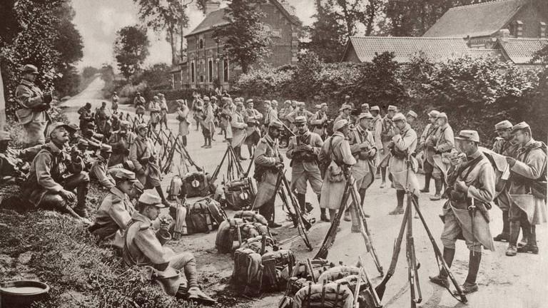 French infantry, circa 1914