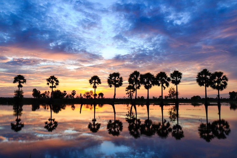 Beautiful scene near Chau Doc