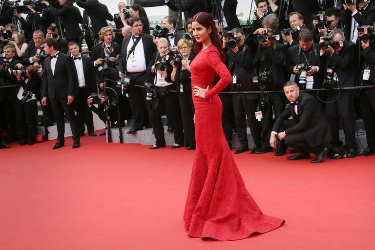 Katrina Kaif at the 68th Cannes Film Festival in 2015