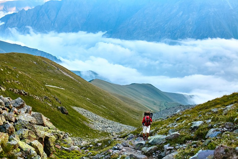 Magnificent views in the Caucasus Mountains | © Vitalii Matokha/Shutterstock